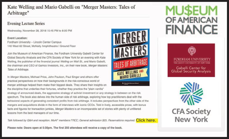 Merge Masters Tales of Arbitrage